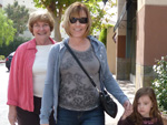 Mary, Cathy, and Tori in Valencia, 16 weeks after surgery