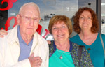 Jerry, 94, and His Two Daughters Mary and Teresa