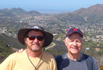 Bill Sauer and I Rest after Hiking to Angel Vista