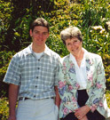 Looking Back: Dave and Mary in Our Garden at Easter 1999